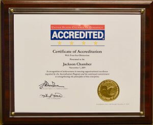 4-star accreditation certificate