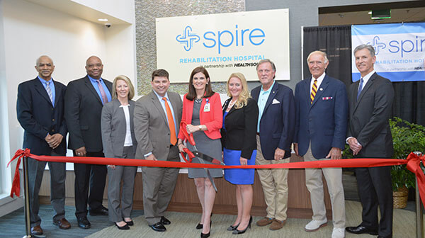 Ribbon Cutting for Spire Rehabilitation Hospital in Jackson, Tennessee